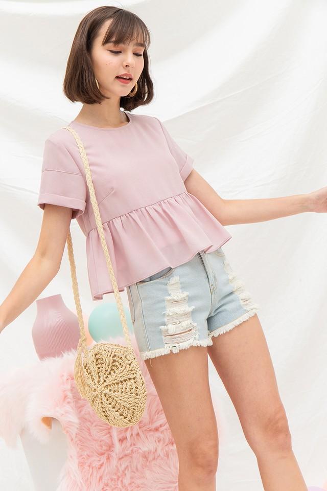 Kenley Top Pink