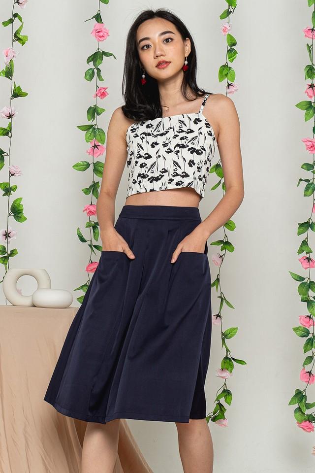 Lesila Skirt Navy