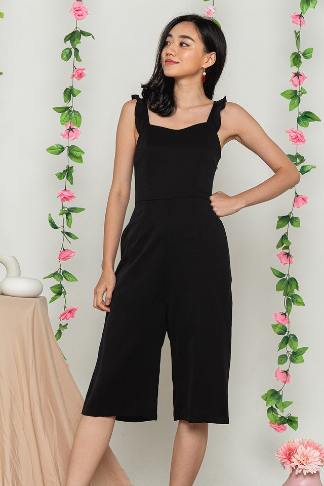 Tiarra Jumpsuit Black