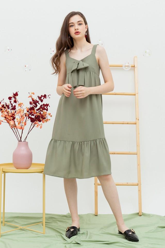 Jerrie Dress Sage