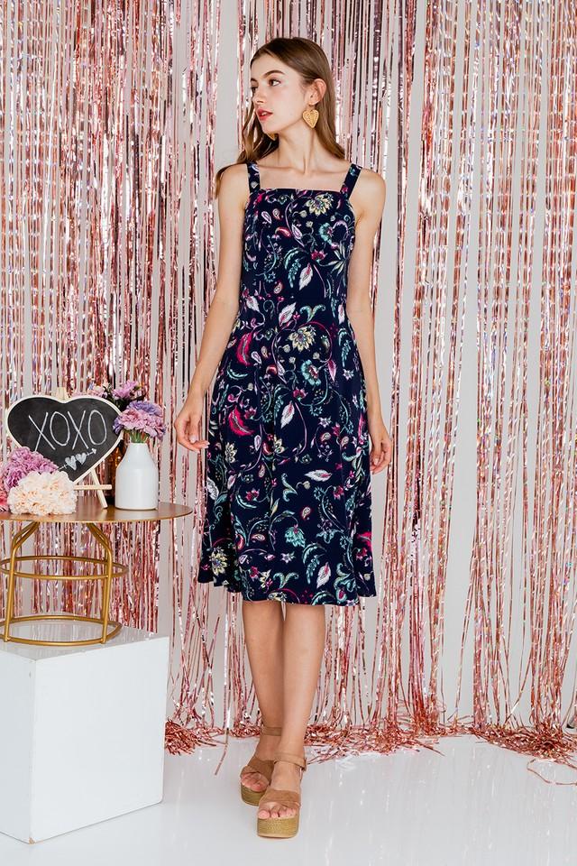 Zaine Baroque Dress