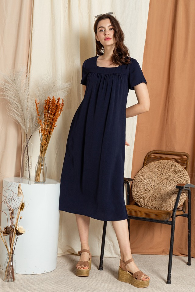 Katelyn Dress Navy