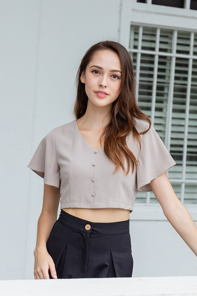 Belle Top Taupe