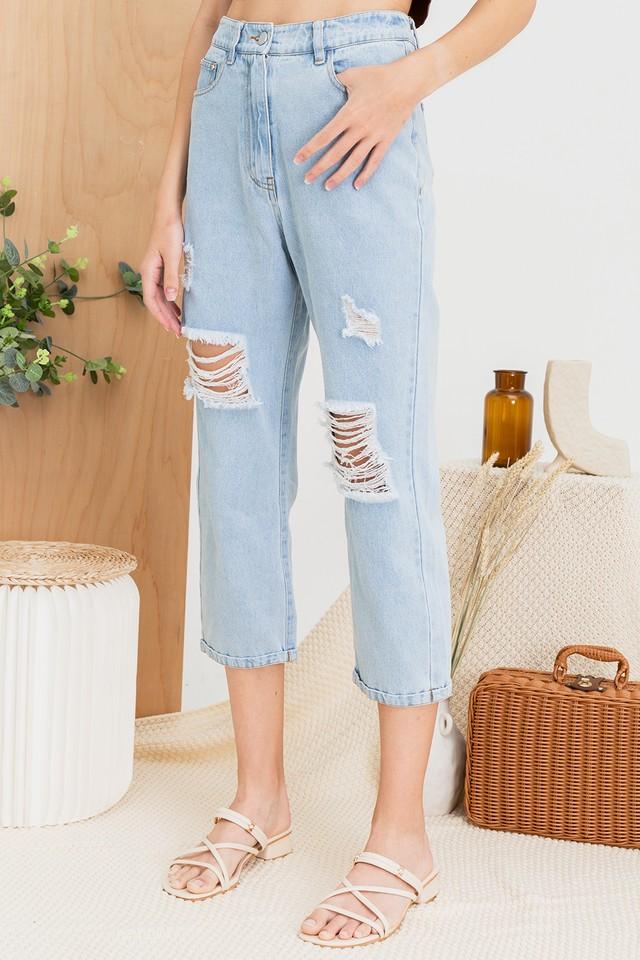 Bessie Denim Jeans Light Wash