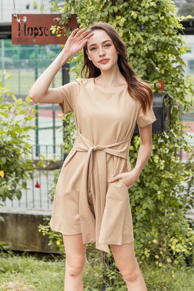 Aislin Dress Khaki