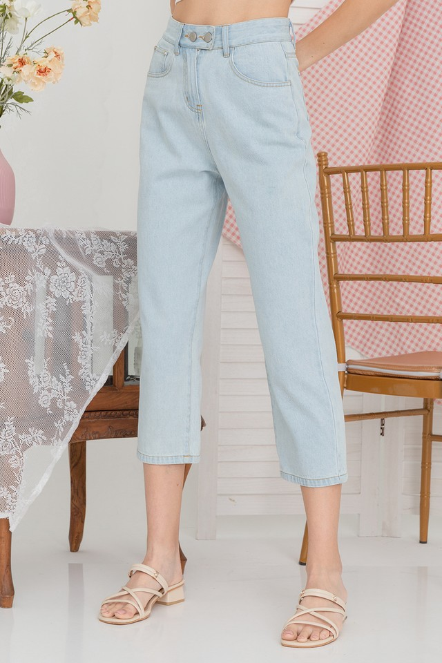 Xaviera Denim Jeans Light Wash