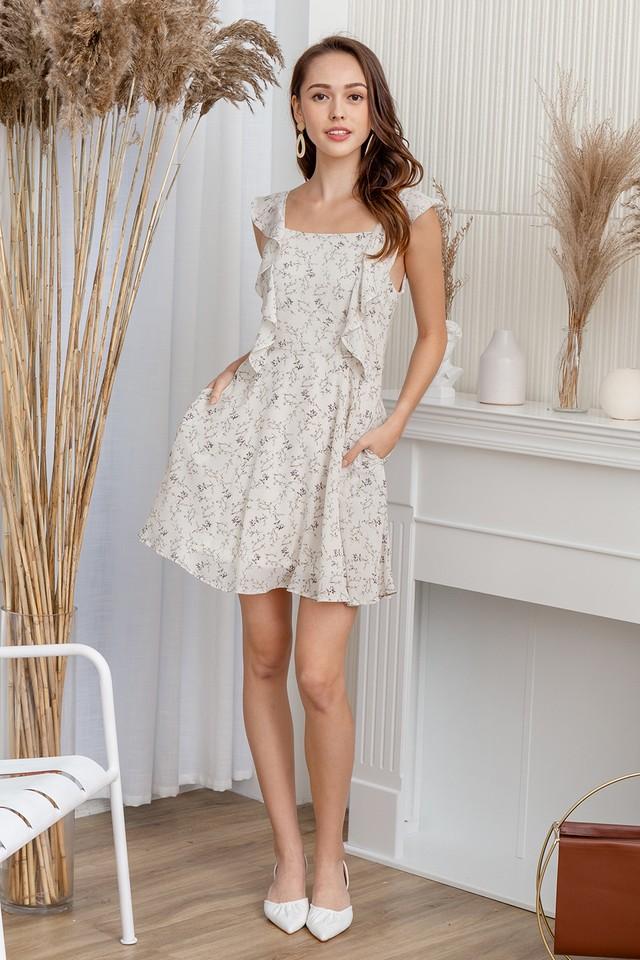 Carlisle Dress White Floral