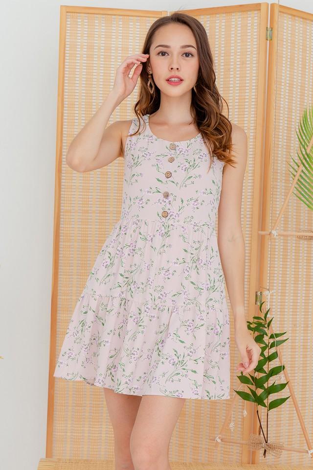 Cori Dress Pink Floral
