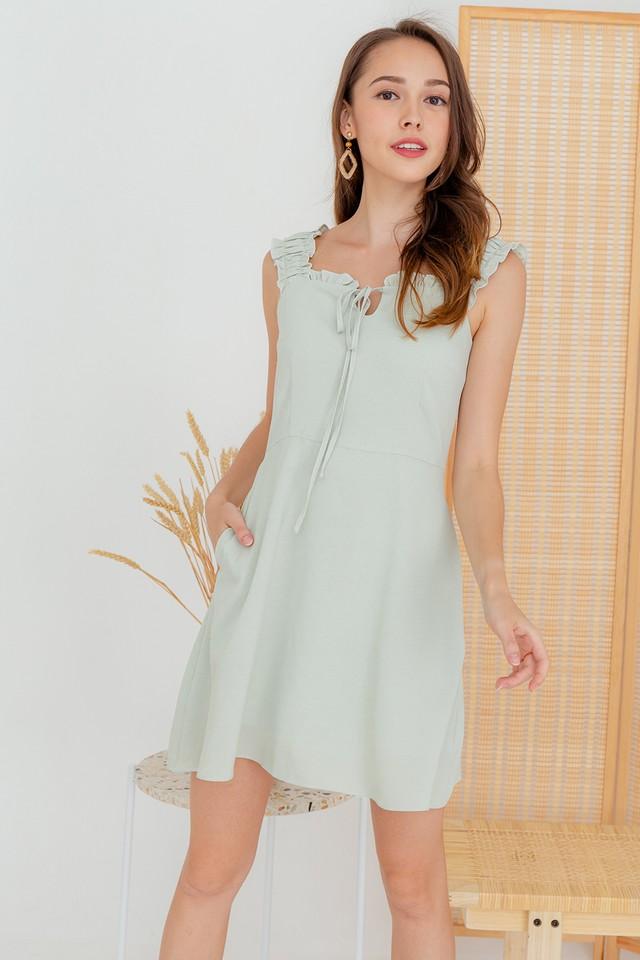 Avena Dress Baby Mint