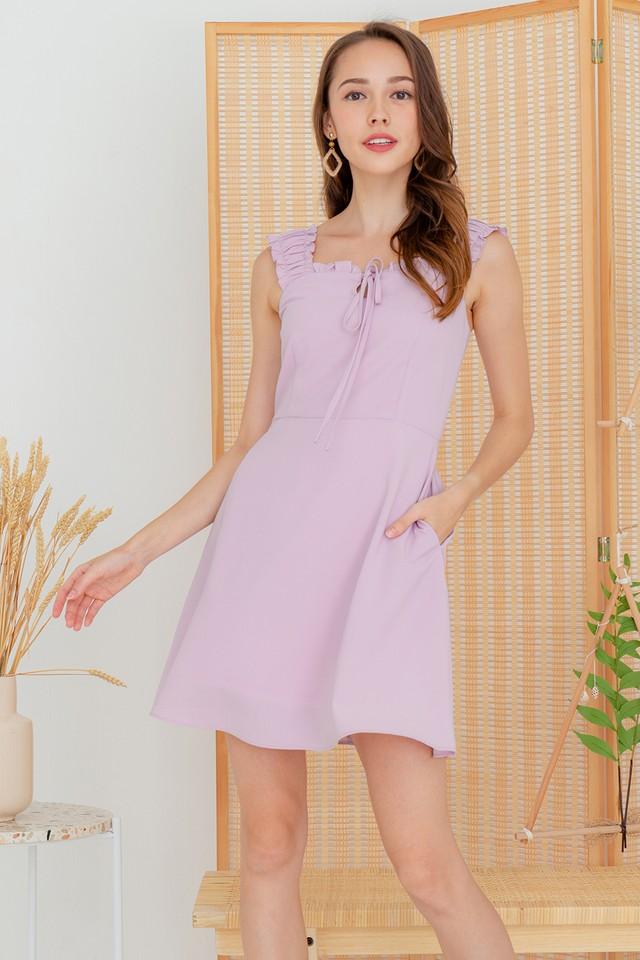Avena Dress Pink Lilac