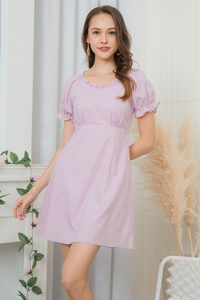 Scottia Dress Pink Lilac