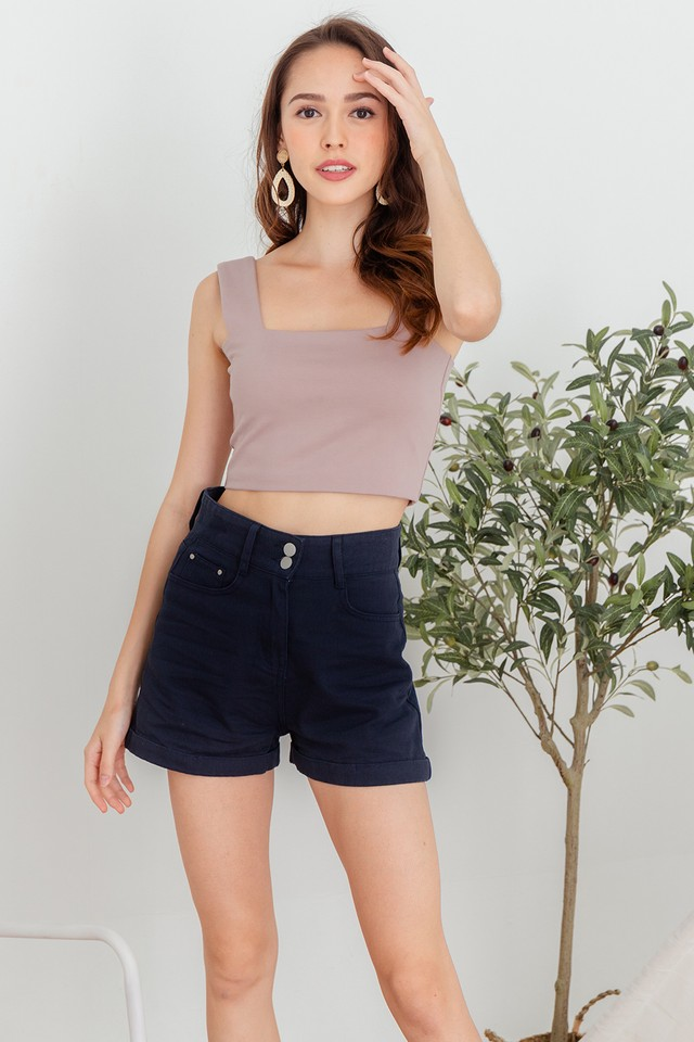Fisa Top Dusty Pink