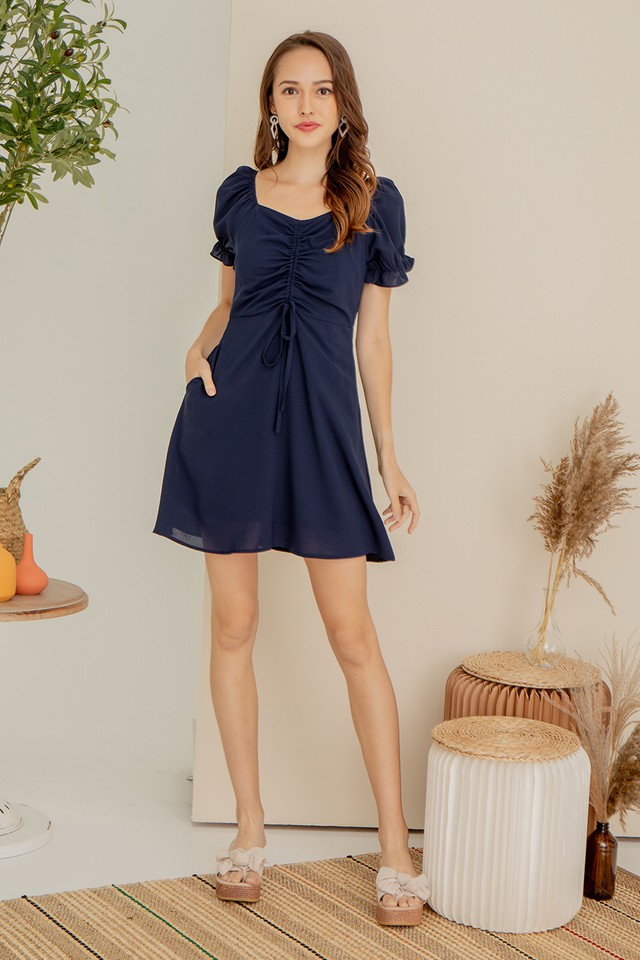 Carl Dress Navy