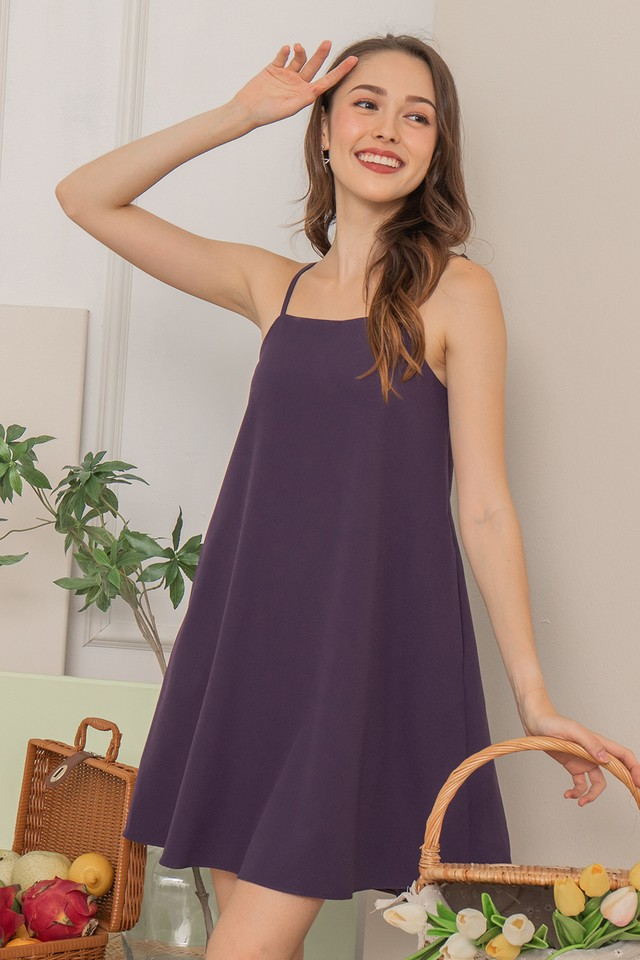 Daisee Dress Eggplant