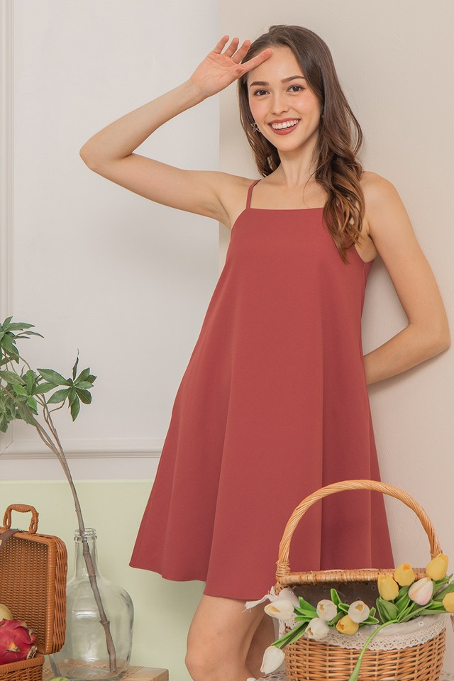 Daisee Dress Raspberry