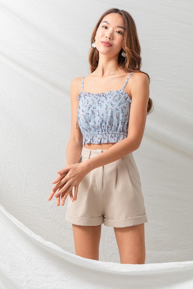 Mimi Top Blue Floral
