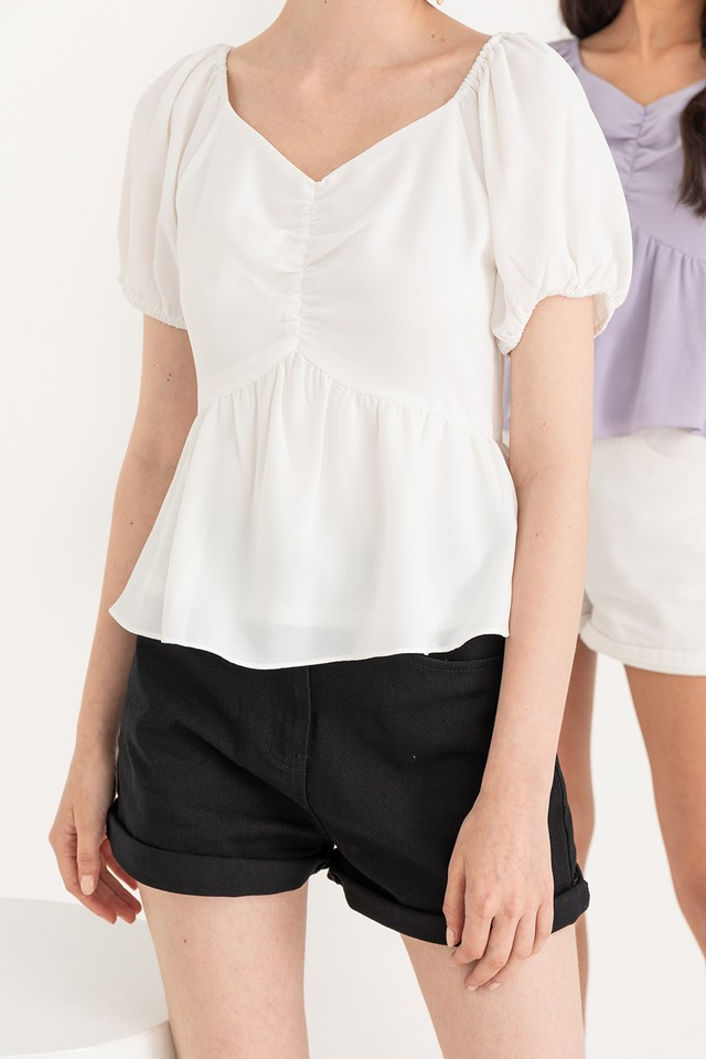 Jace Top White