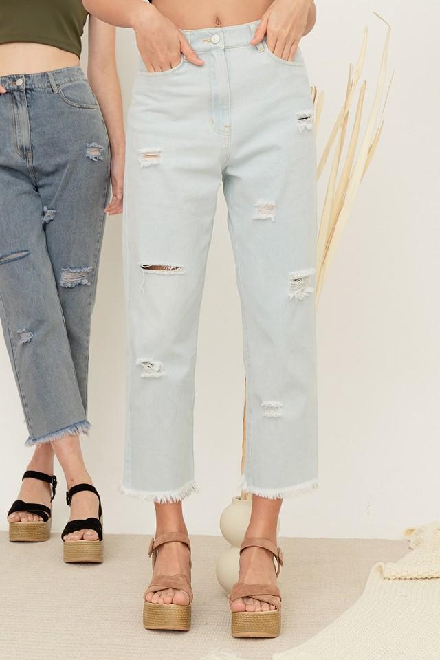 Alya Denim Jeans Light Wash