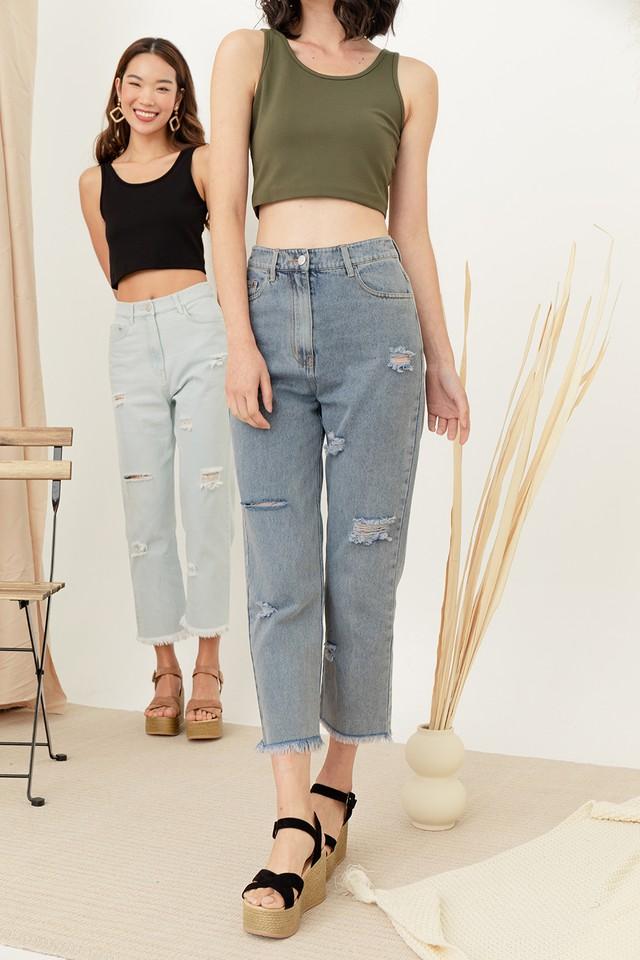 Alya Denim Jeans Dark Wash