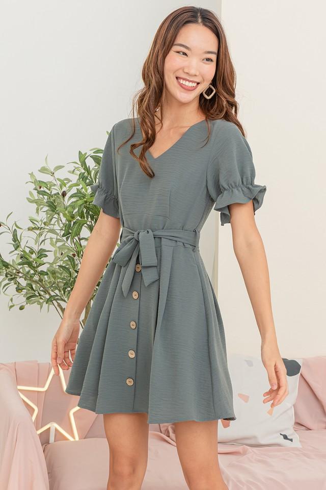 Lynna Dress Grey