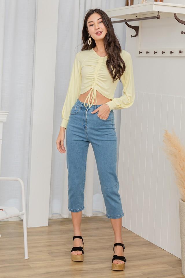 Petra Denim Stretchy Jeans Mid Wash