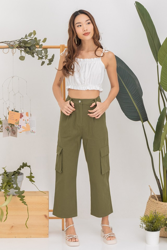 Ray Cargo Pants Army