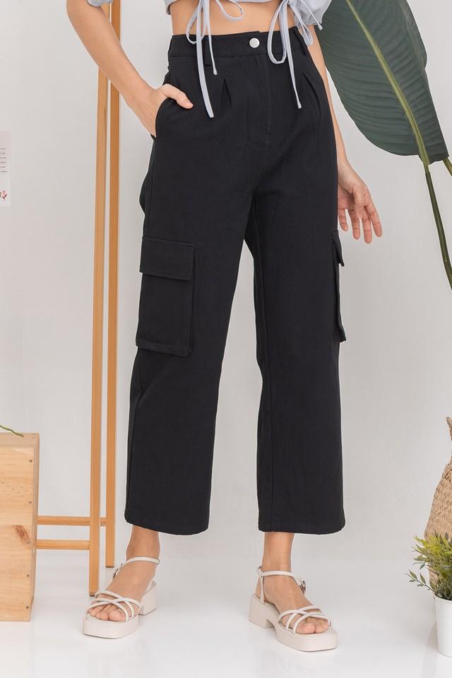 Ray Cargo Pants Black