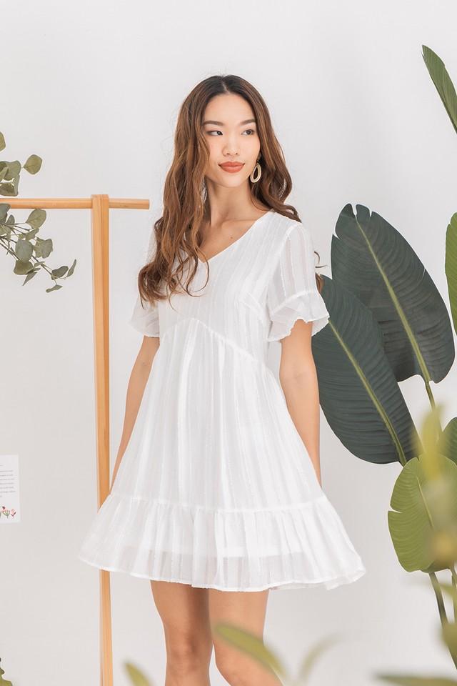 Wallis Dress White