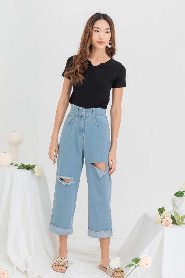 Rickna Denim Jeans Light Wash