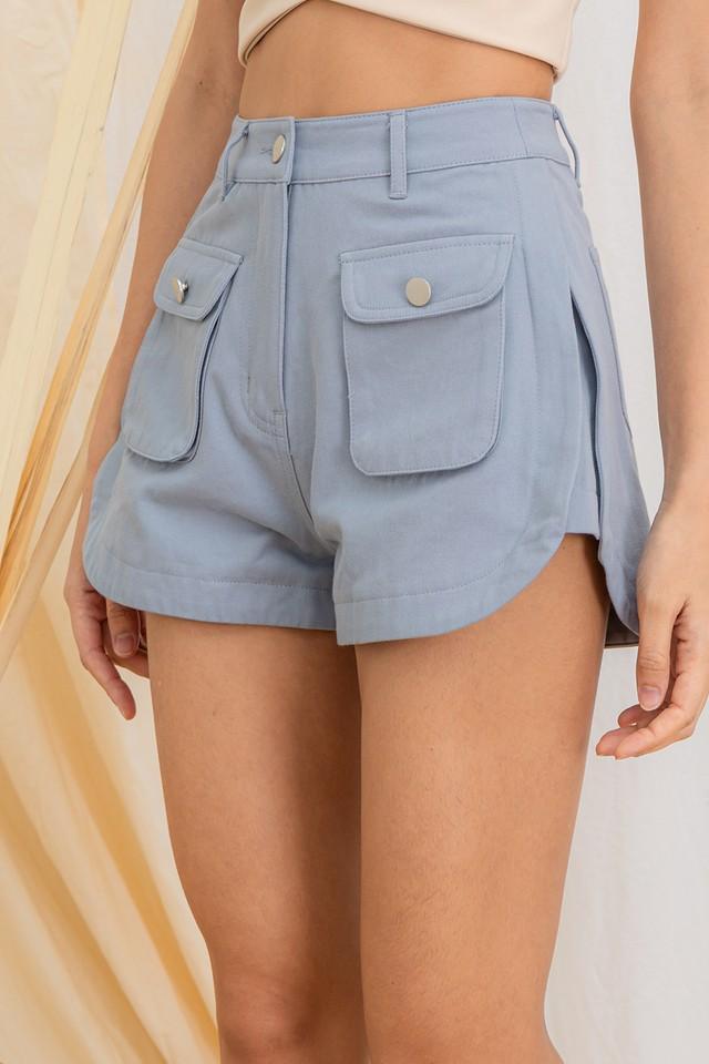Niko Cargo Shorts Cornflower Blue