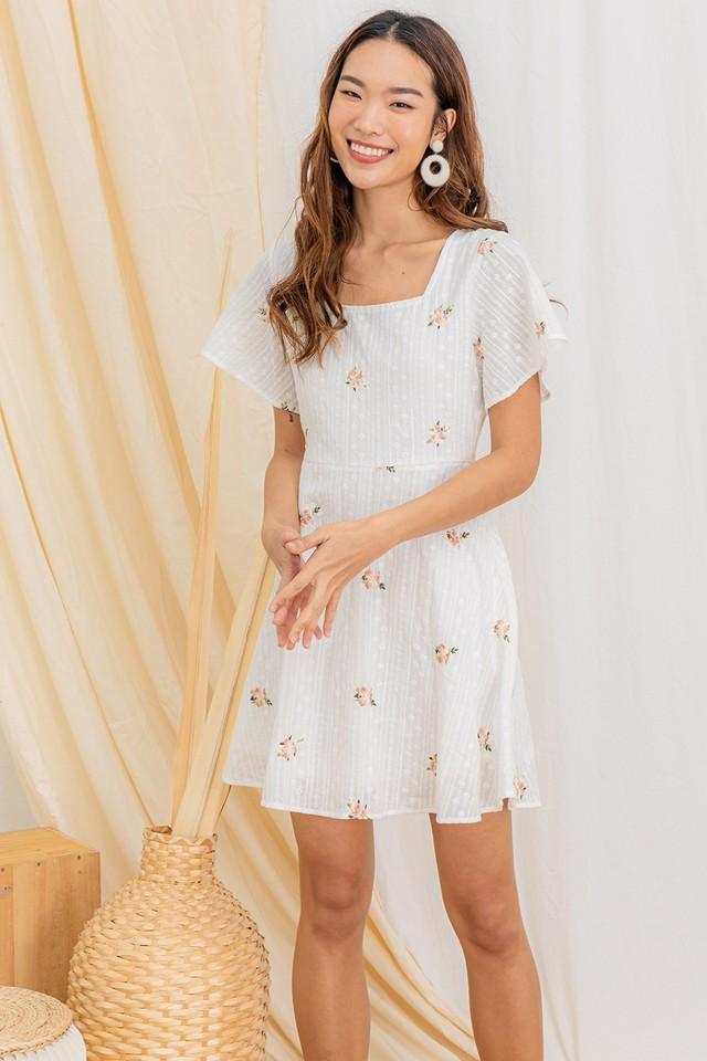 Joreen Embriodery Dress