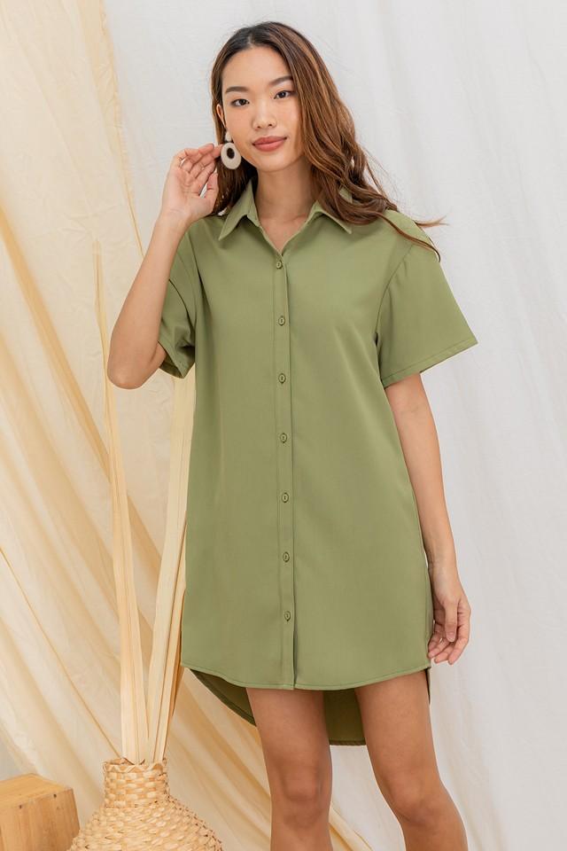 Miyoko Shirtdress Pear