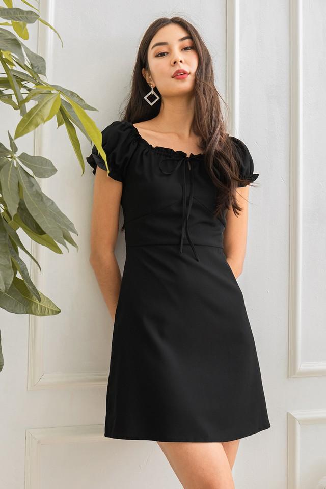Hector Dress Black
