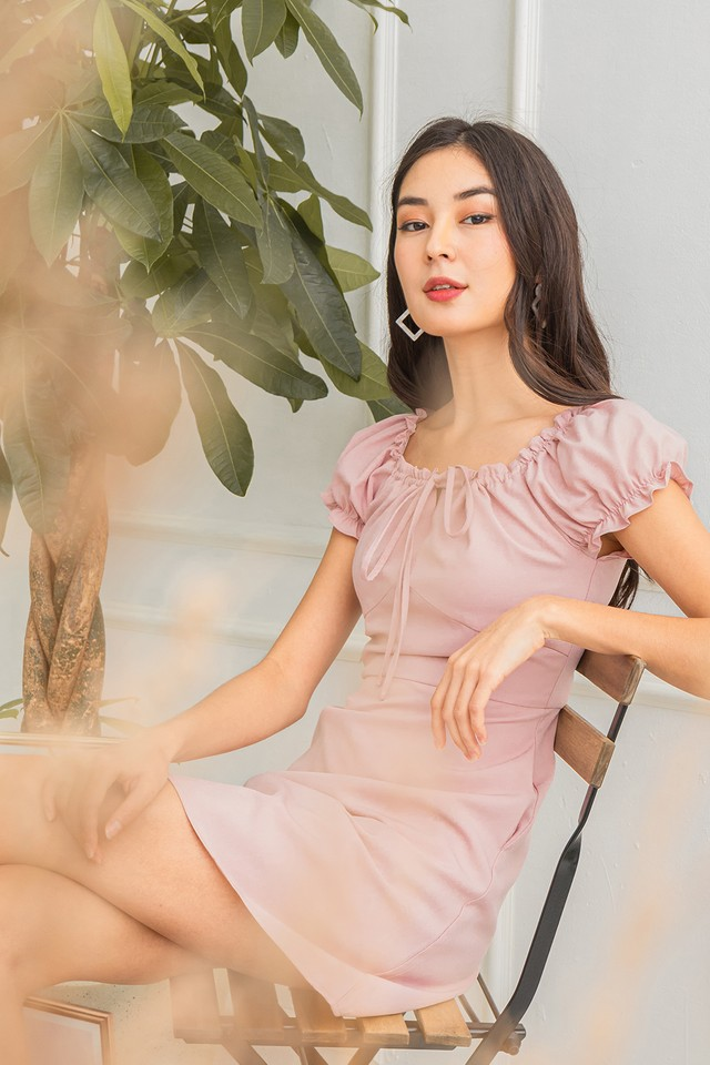 Hector Dress Pink