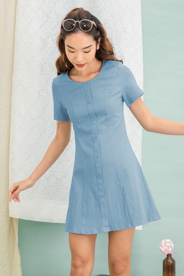 Miko Denim Dress Light Wash