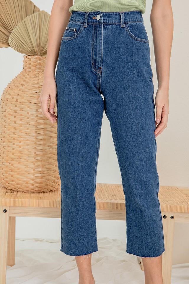 Elissa Denim Jeans Dark Wash