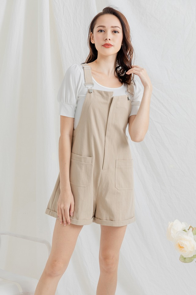 Sharrie Dungaree Oat