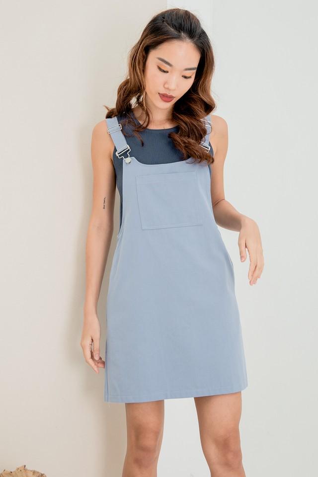 Kera Pinafore Cornflower Blue