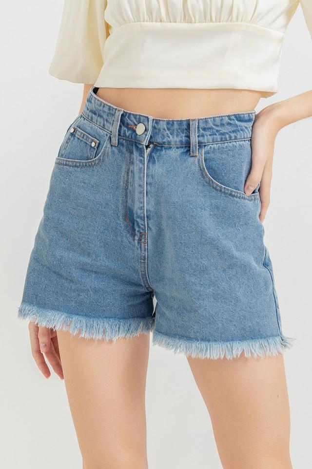 Maribel Denim Shorts Mid Wash