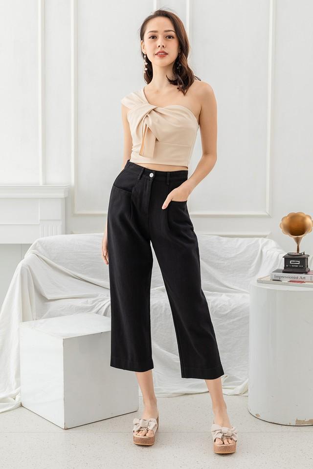 Kamika Denim Pants Black