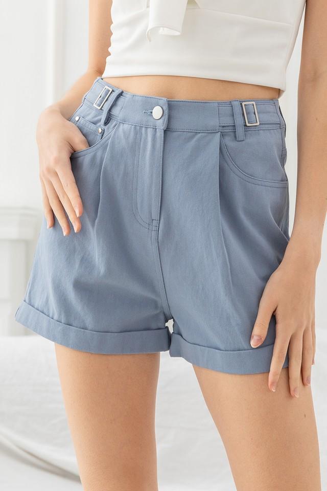 Mika Denim Shorts Cornflower Blue