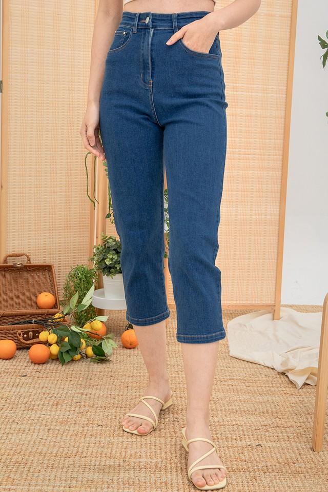 Petra Denim Stretchy Jeans Dark Wash