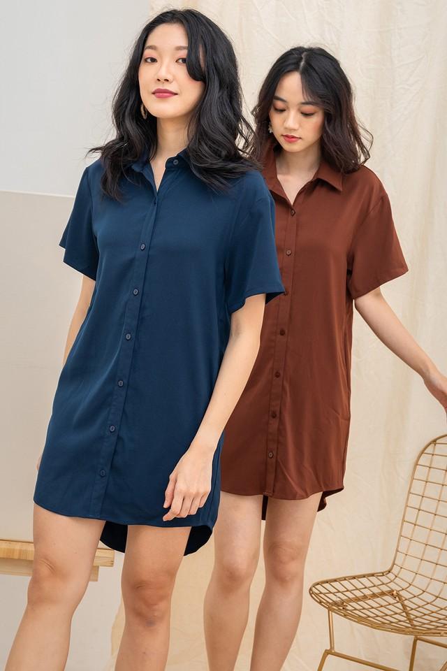 Miyoko Shirtdress Navy