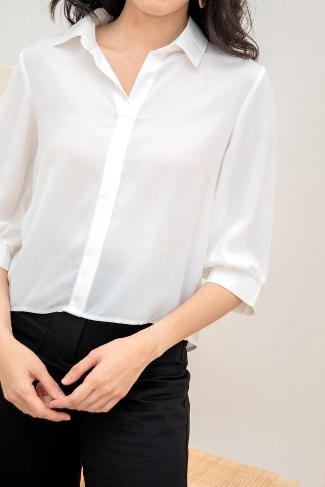 Tintin Shirt White