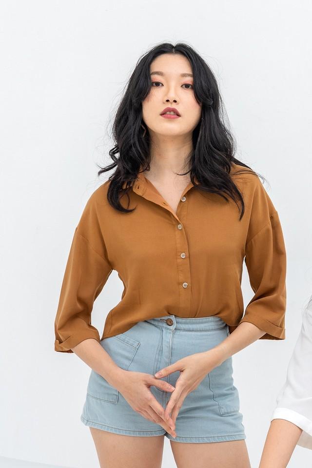 Landyn Shirt Toffee