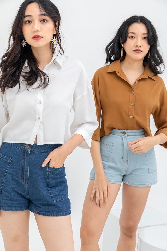Landyn Shirt White