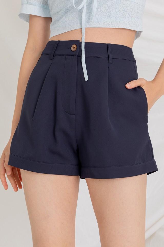 Tenrie Shorts Navy