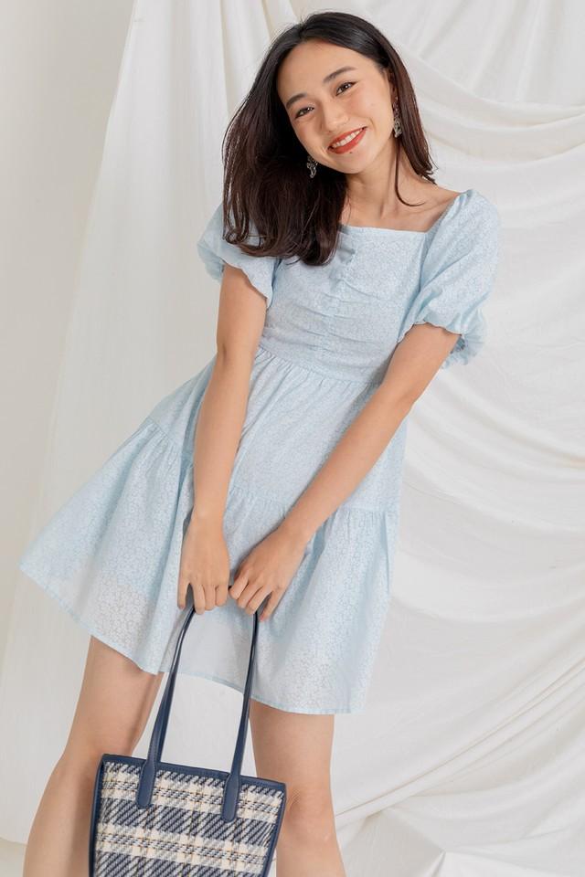 Larra Dress Sky Blue