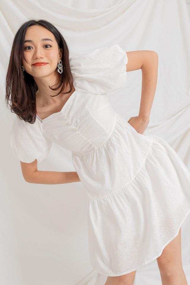 Larra Dress White