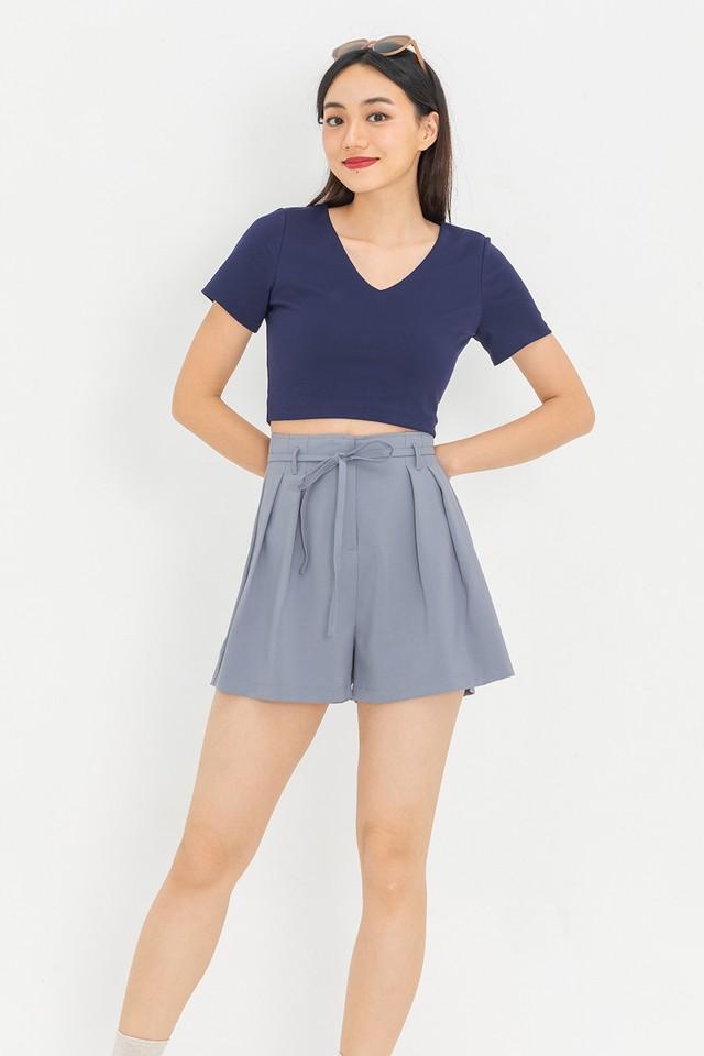 Bevan Shorts Ash Blue